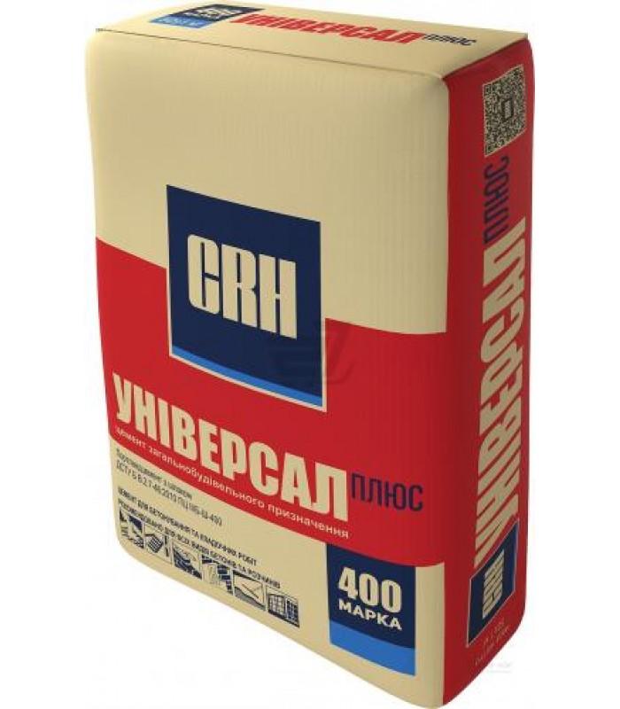 Цемент ПЦ II-Б-Ш-400 тарований 25кг 1п=56мiш CRH