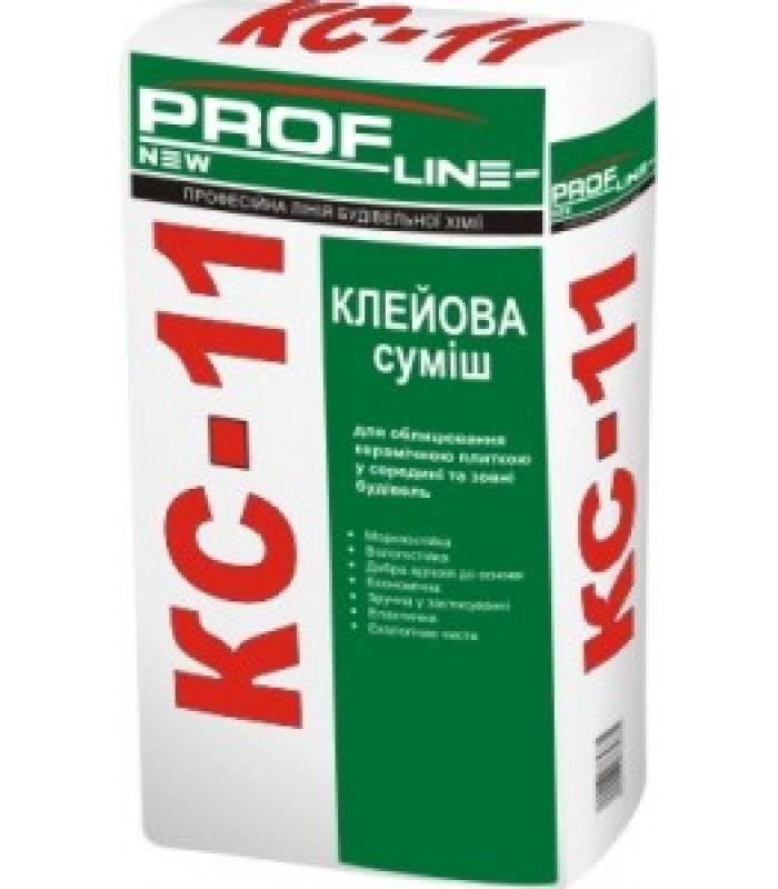 Клей для плитки ProfLine КС-11 25кг (42шт/пал)