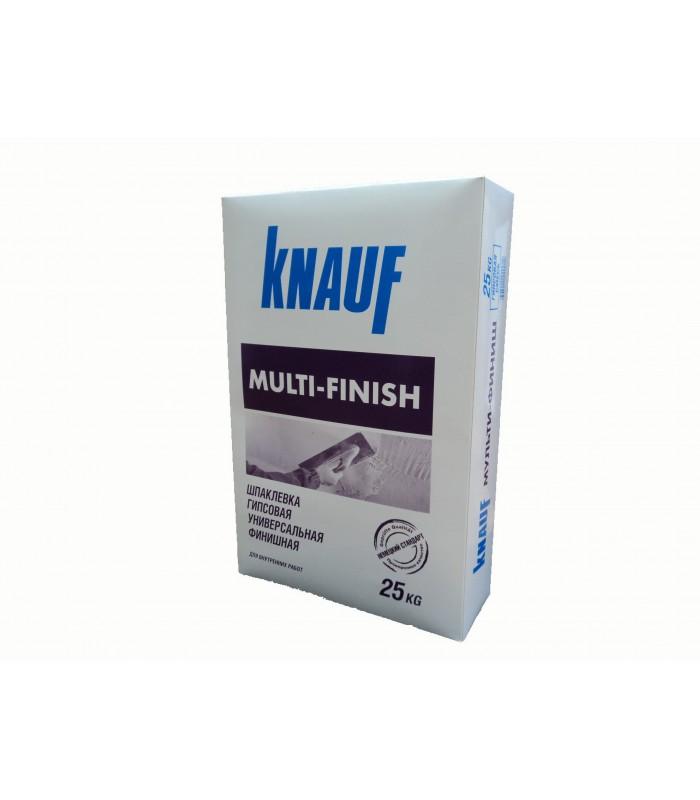 Шпаклевка гипсовая тонкослойная KNAUF Multi-Finish, 25кг