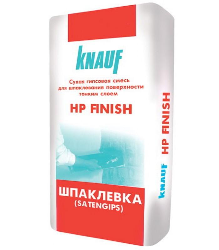 Шпаклевка гипсовая тонкослойная KNAUF НР Finish, 25кг
